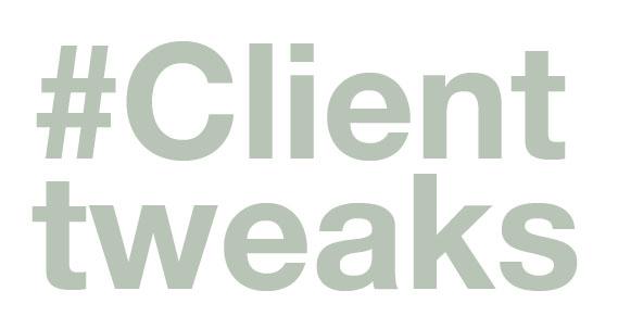 clienttweaks